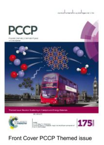 Neutrons in Catalysis PCCP cover photo