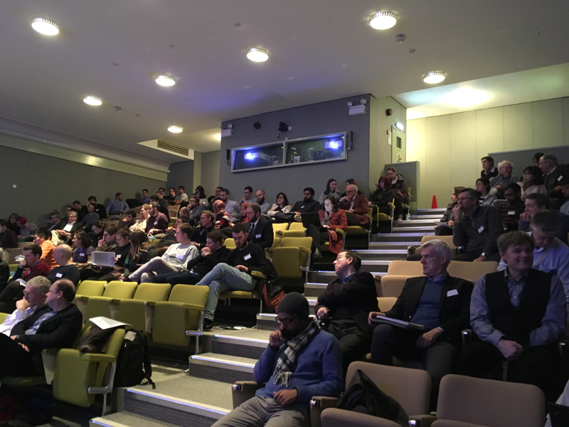 Uk Catalysis Hub Winter Conference 2017 theatre photo